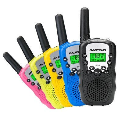2 pc Walkie Talkie Set