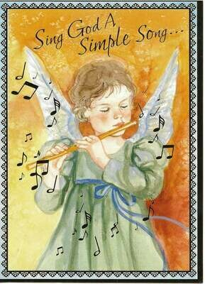 Joy to the World Angel Boxed Cards