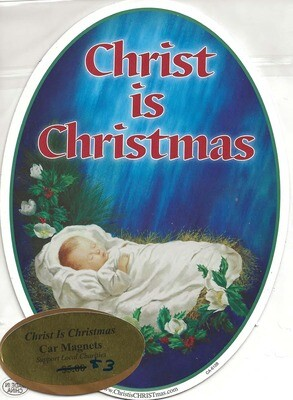Magnet - Christ is Christmas Infant