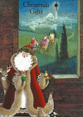 Saint Nicholas Gifts Boxed Cards