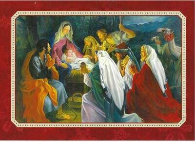 The Nativity Boxed Cards