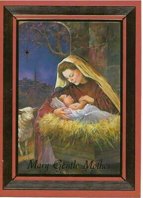 Mary Gentle Mother Boxed Cards