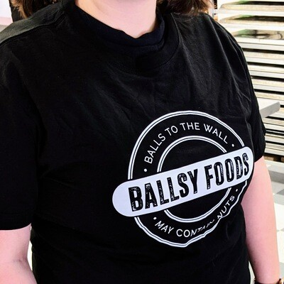 Original Ballsy Black T-Shirt