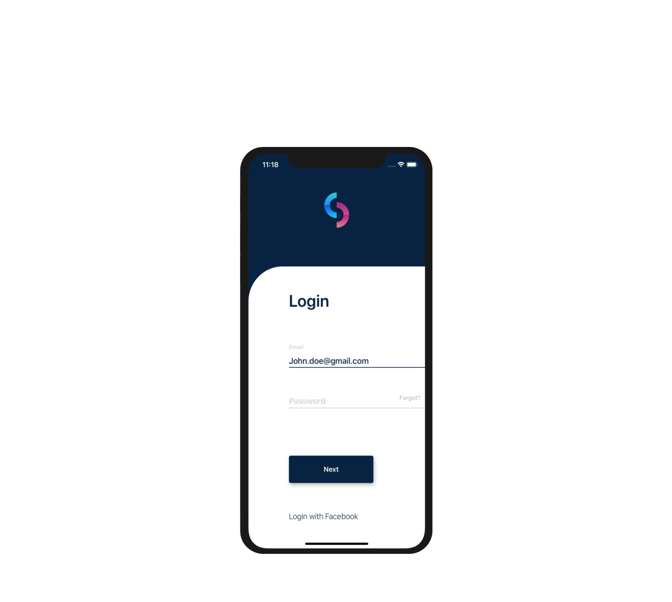 Login Screen with React Native