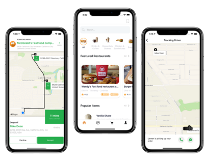 UberEats Redesign App