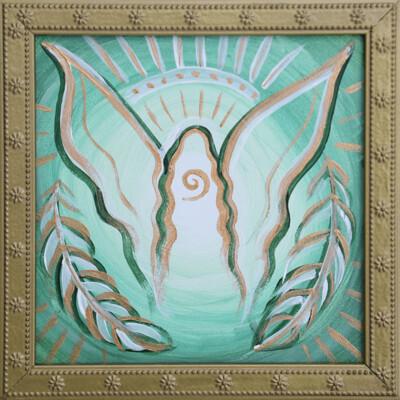 """Healing Angel"" Original Painting [ 2020 ]"