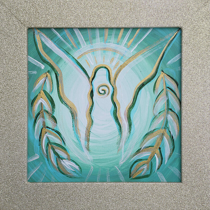 """""""Protection Angel"""" Original Painting [ 2020 ]"""