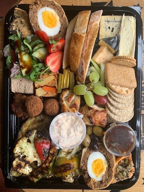 Vegetarian Ploughman's Platter (serves two)