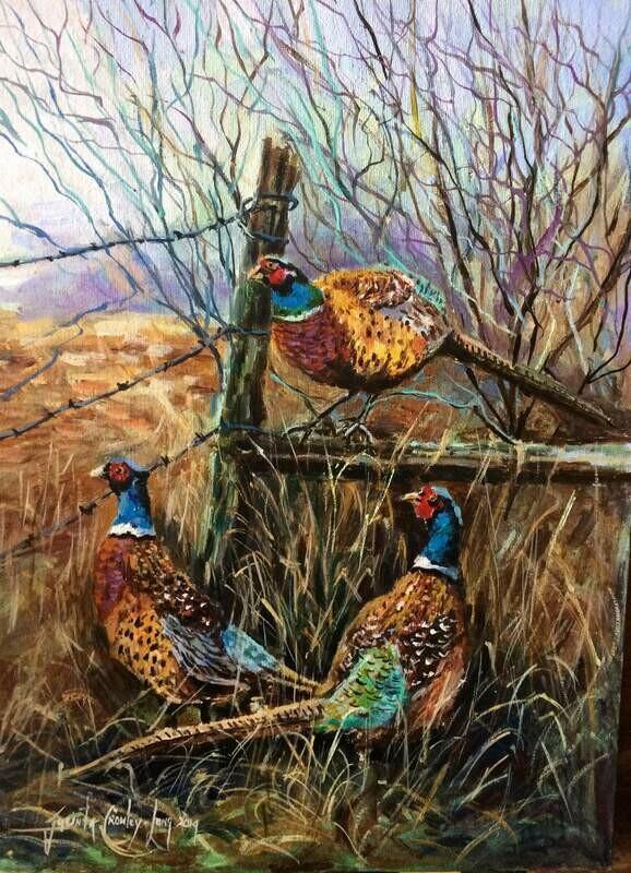 Game Birds  (Jacinta Crowley-Long)