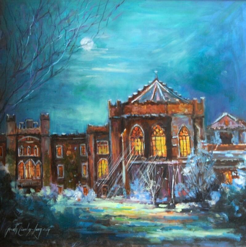Frosty Evening, Clongowes (Jacinta Crowley-Long)