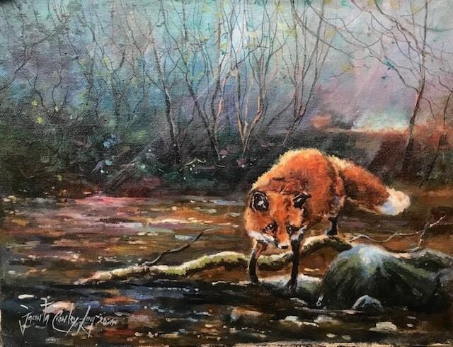 River Fox (Jacinta Crowley-Long)
