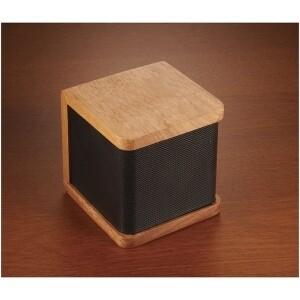 Enceinte Bluetooth en bois d'acajou