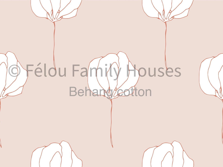 Wallpaper Dollhouse Cotton