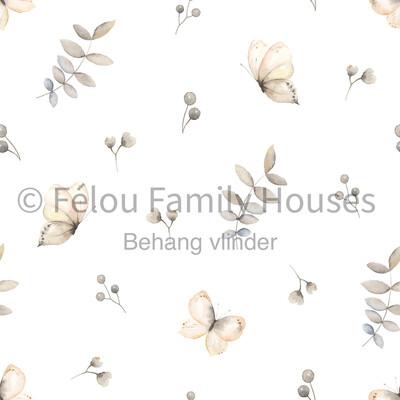 Wallpaper Dollhouse Butterfly