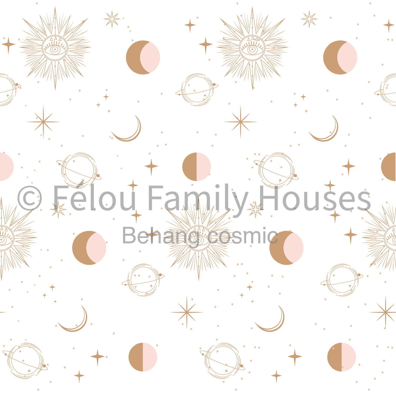 Wallpaper Dollhouse Cosmic