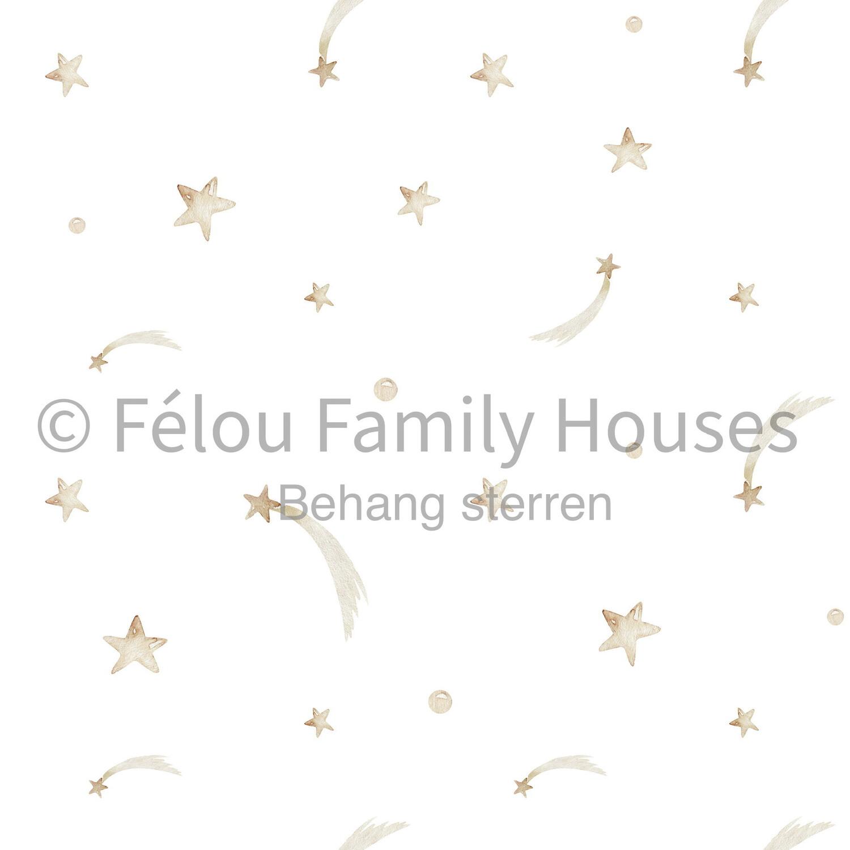 Wallpaper Dollhouse Stars