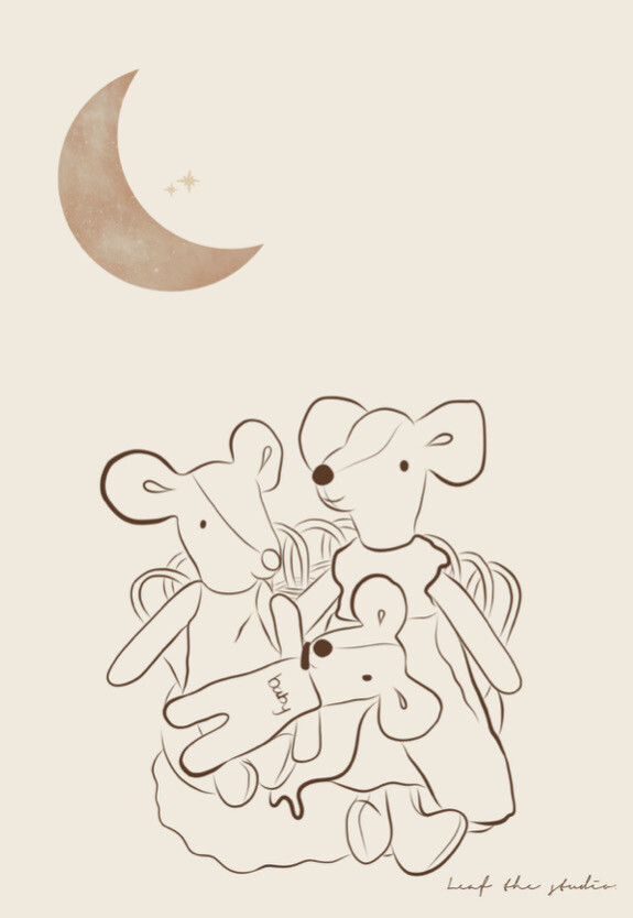 LEAF THE STUDIO Mouse Family