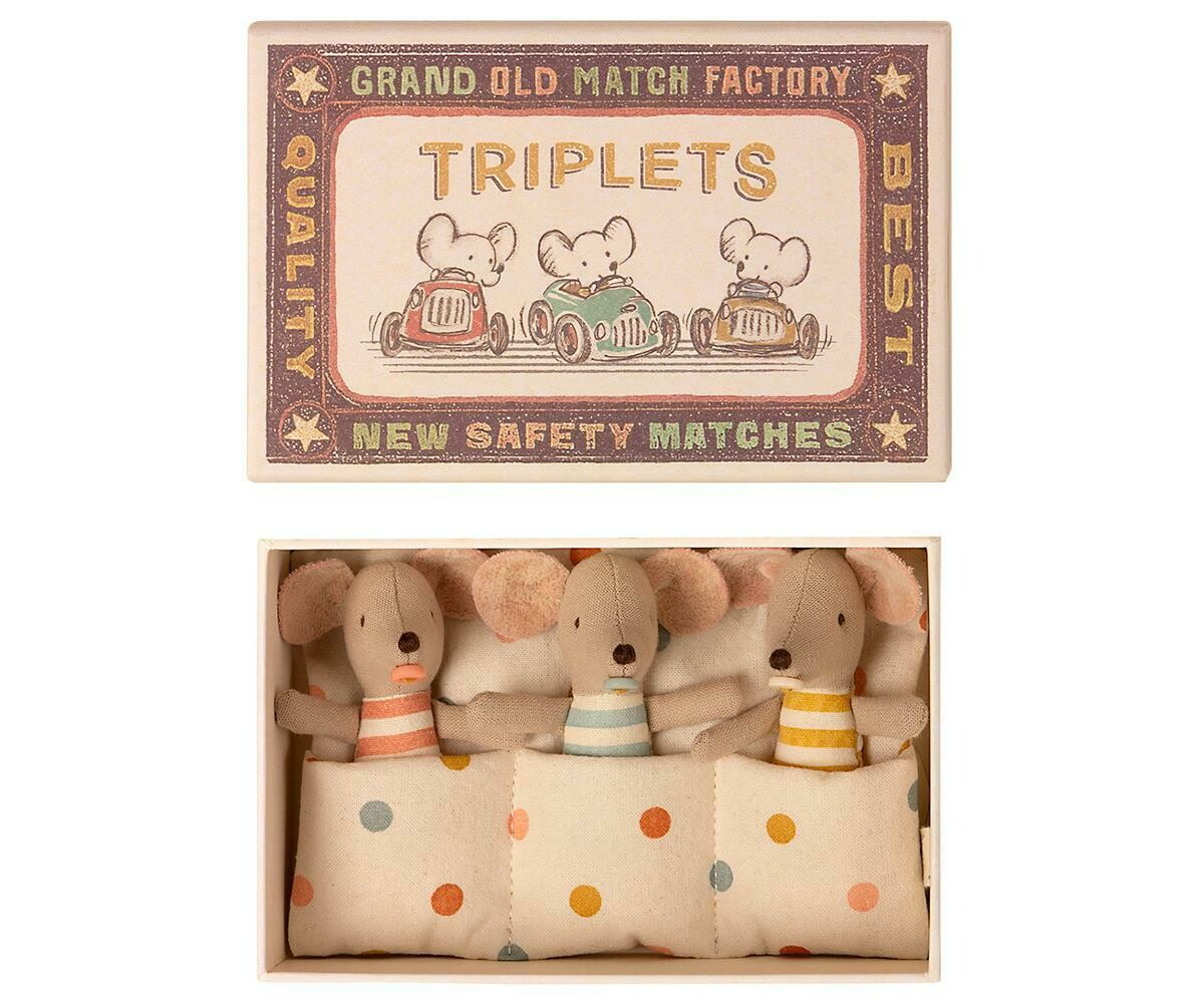 Maileg Baby Mice Triplets