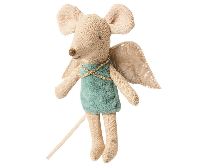 Maileg Mouse Fairy (petrol)