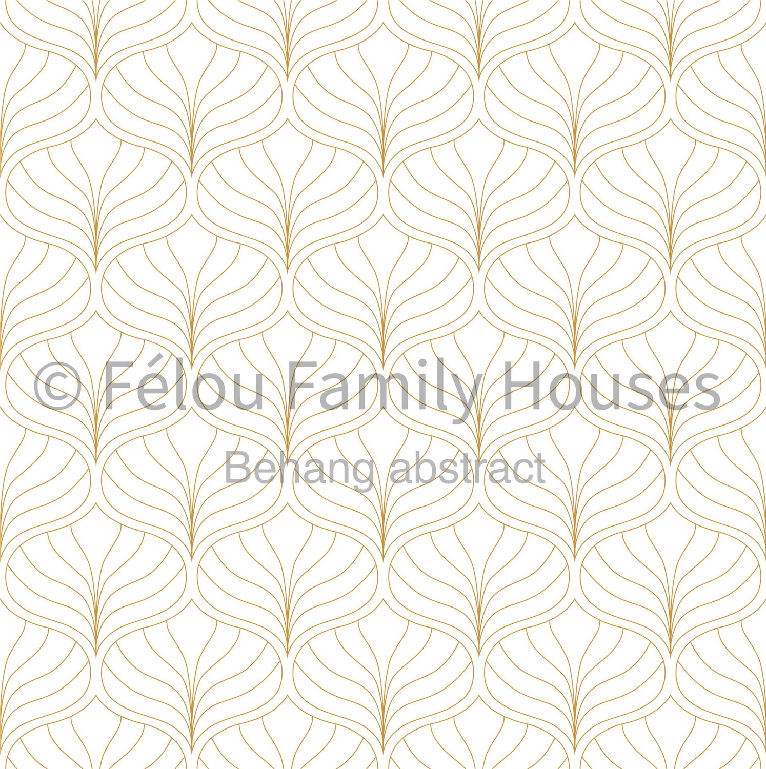 Dollhouse Wallpaper Abstract