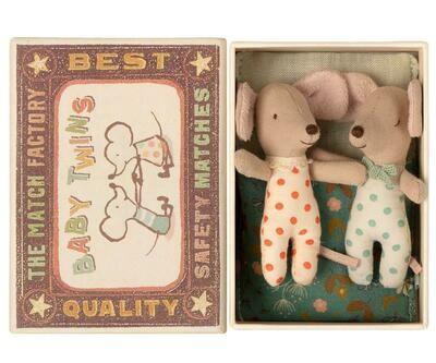 Maileg Baby Mice Twins (8cm)