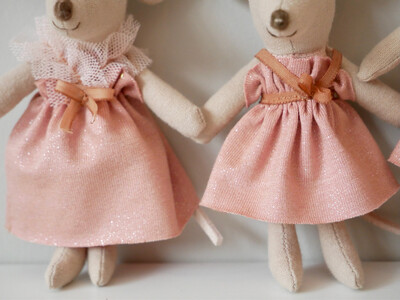 Handmade dress for Maileg Mice