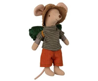 Maileg Hiker Mouse Big Brother (12cm)