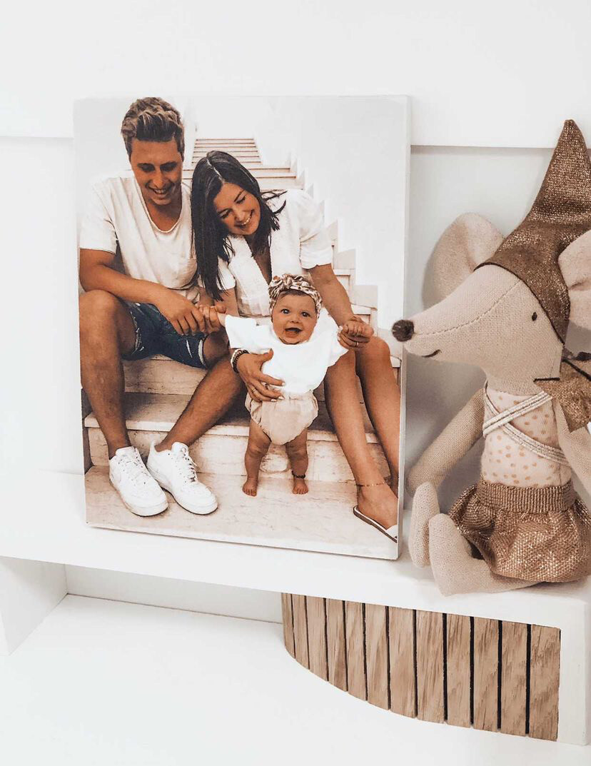 Personalized photo/picture on wood