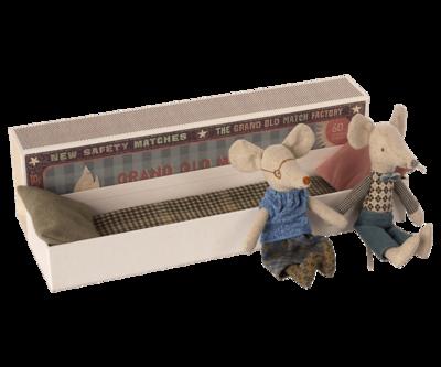 Maileg grandpa & grandma mouse (17cm)