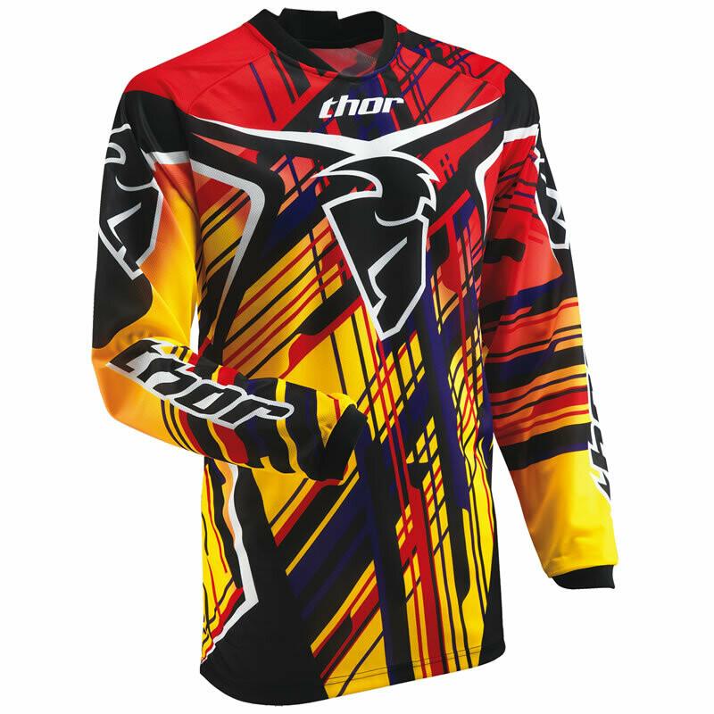 THOR WOMAN Phase S13 Stix Motocross Jersey