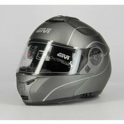 casco Modulare Givi X21 P/j Challenger Titanio Opaco TG 56/S