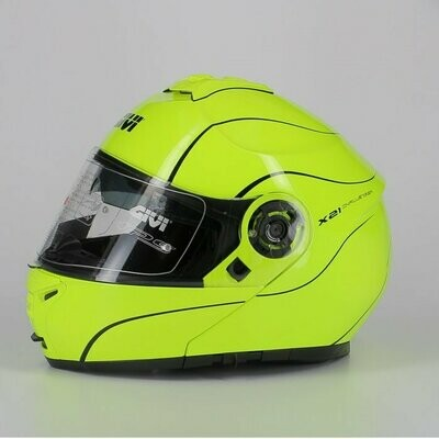 casco Modulare Givi X21 P/j Challenger Giallo Fluo TG XXL/63
