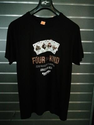 T Shirt celebrativa Rea World Champion TG XL