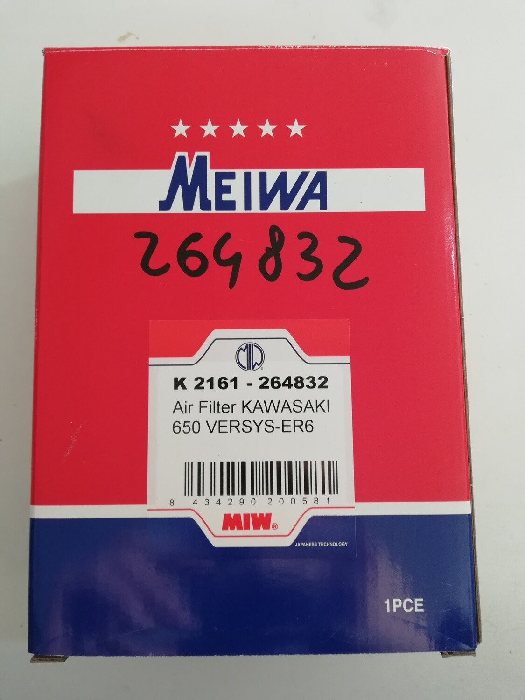 FILTRO ARIA KAWASAKI ER 6N e F 06/08 , VERSYS 650 07/14