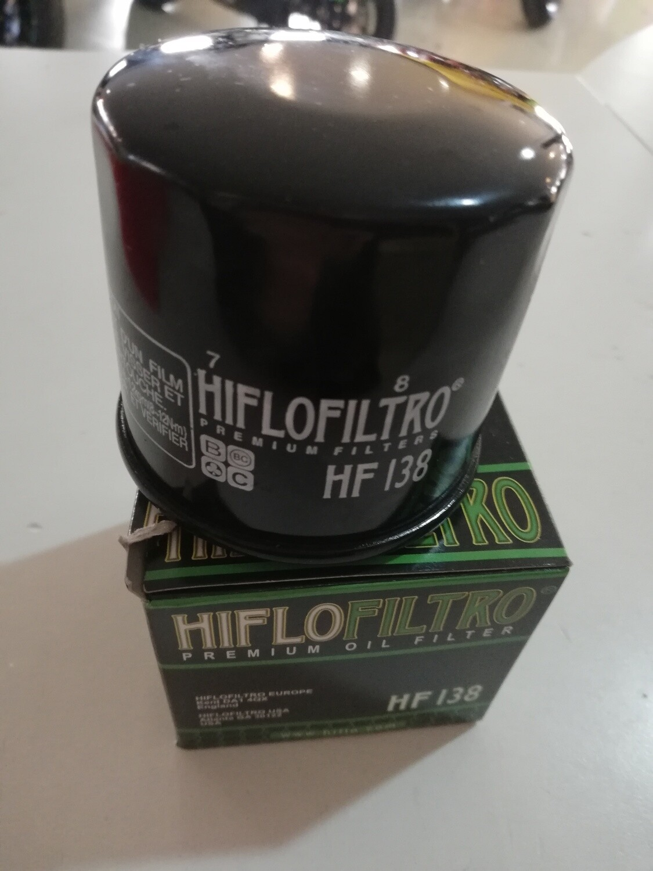FILTRO OLIO HF138 VARIE APPLICAZIONI