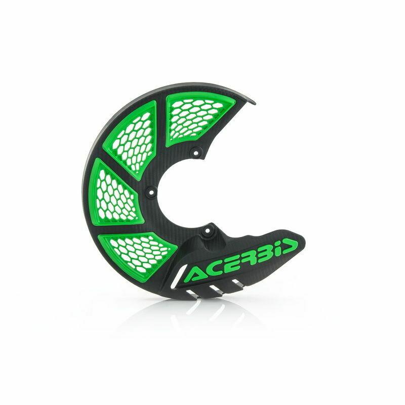 Acerbis Paradisco X-brake 2.0 Nero/verde