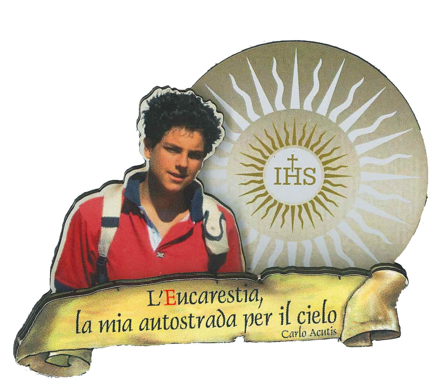 Calamita Carlo Acutis 3D