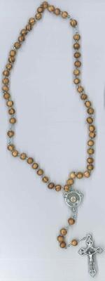 Corona di Carlo Acutis imitazione olivo con immagine