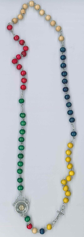 Collino rosario legno missionario di Carlo Acutis