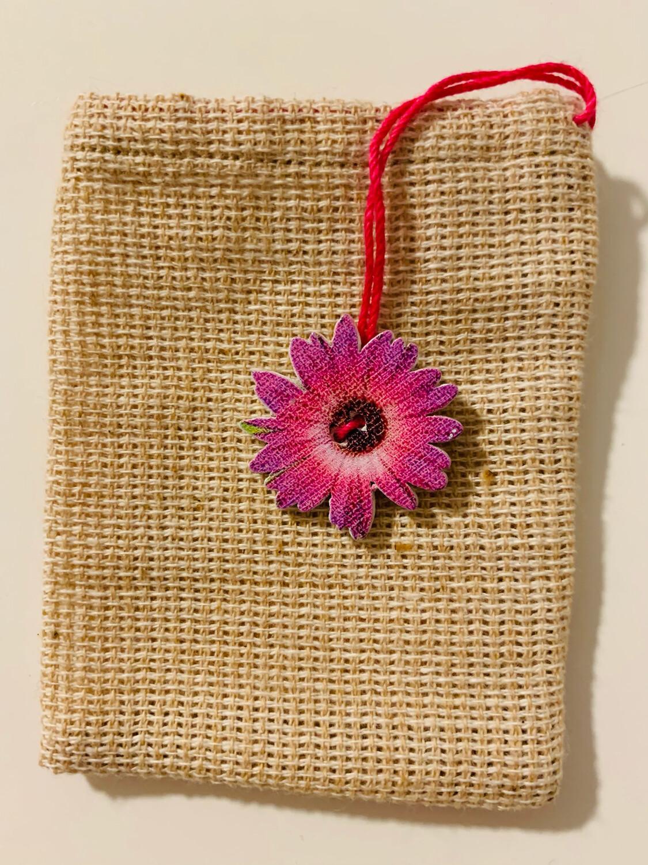 Sachet de thé - Fleur rose