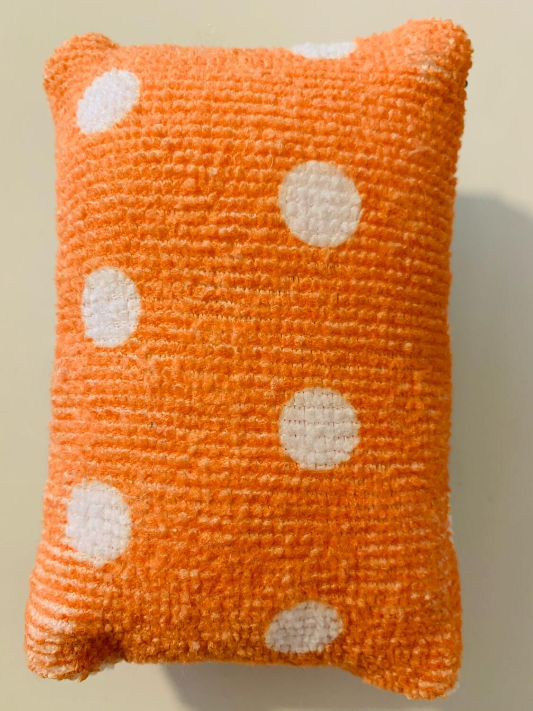 Éponge vaisselle - Petit pois orange