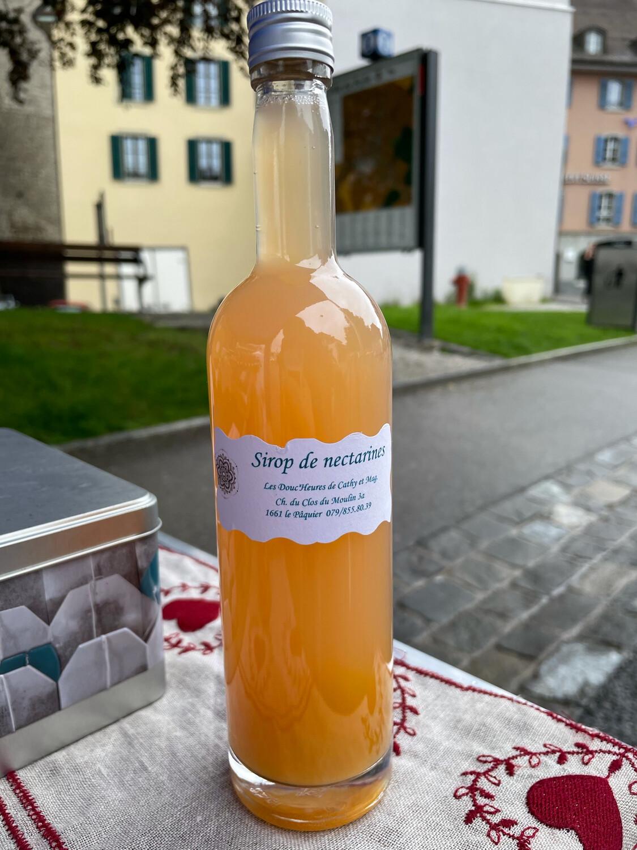 Sirop artisanal Nectarine