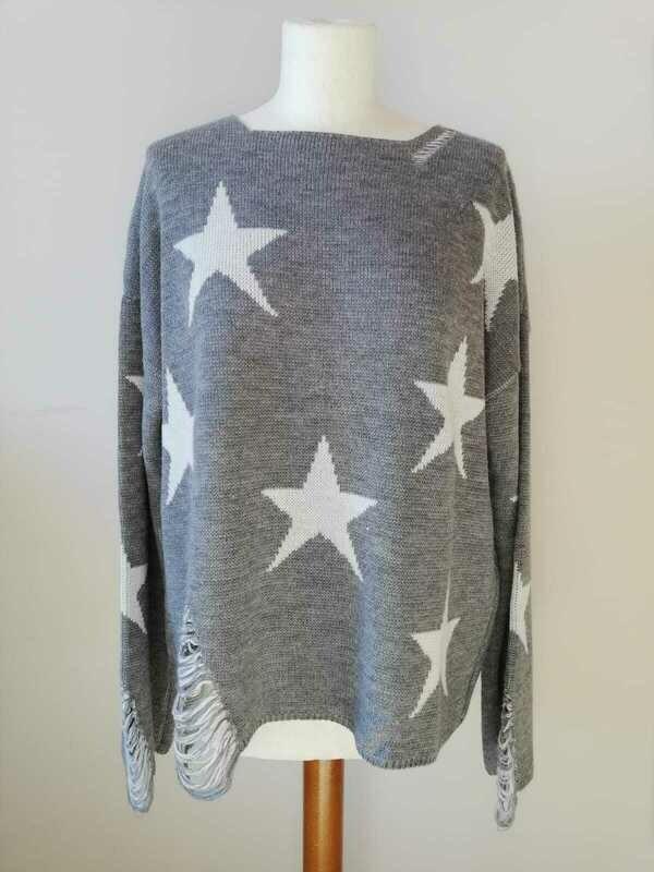 Maglione con stelle