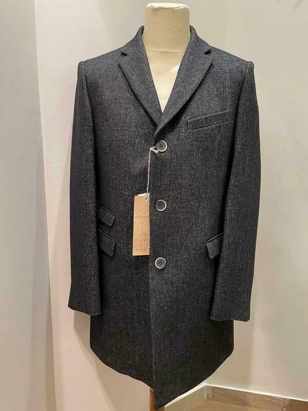 cappotto lana Jhon Barritt