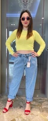 Jeans kontatto vita alta