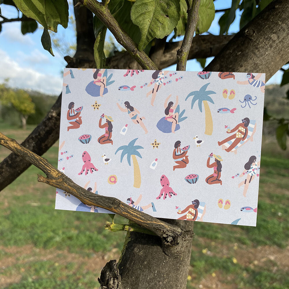 Trendy Summer Card