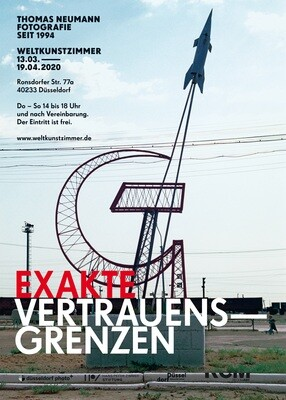 Poster Exakte Vertrauensgrenzen, A3 size, 2020, SIGNED, free shipping