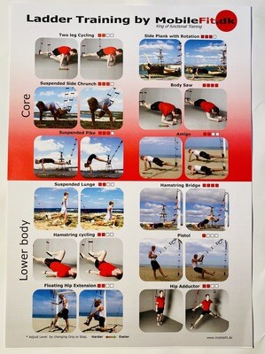 Poster : Core & Lower body