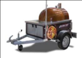 Передвижная пицца-печь