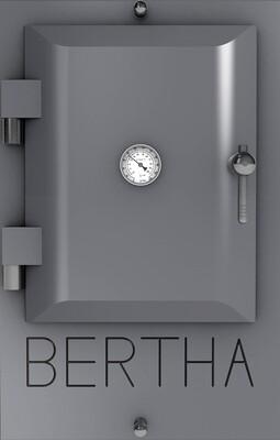 Bertha ™ печь-гриль. Цвет: серый RAL 7307